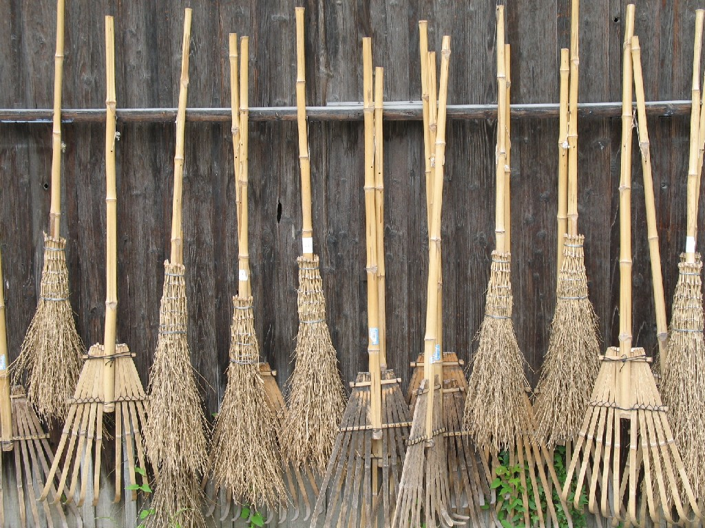 A Bundle of Brooms Nagano Japan